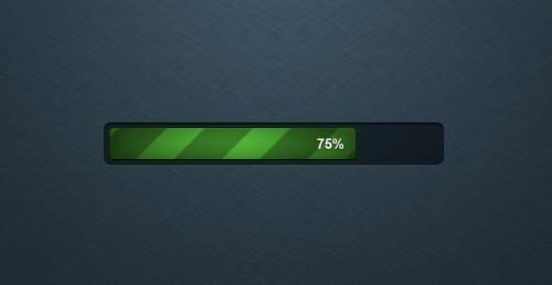Detailed Free Progress Bar