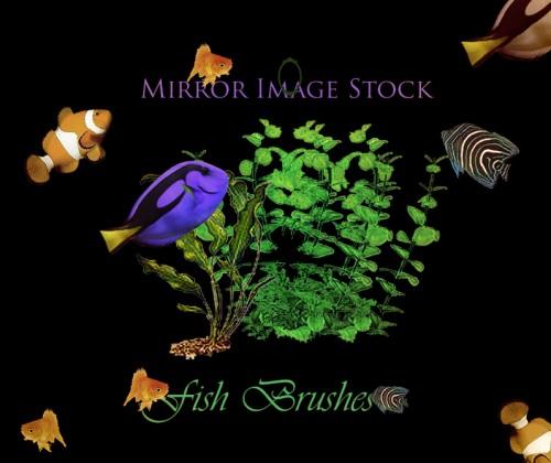 Free Photoshop Fish Brushes