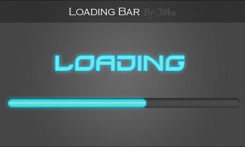 Free Photoshop Loading Bar