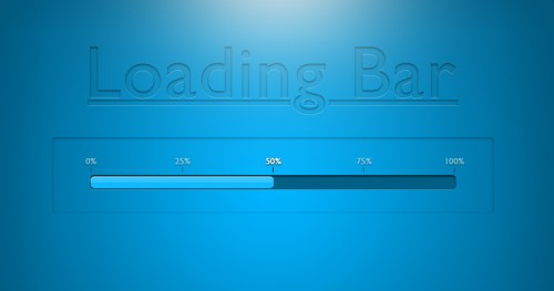 Loading Bar - Free Psd