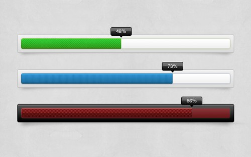 New Progress Bar PSD File