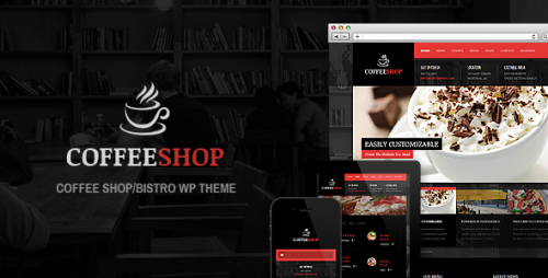 Coffee Shop - Responsive Theme For Restaurant