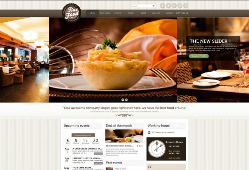 Fine Food - Restaurant Responsive WP Theme