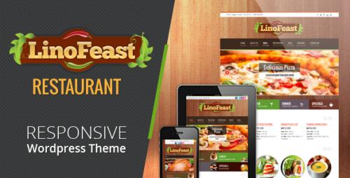 LinoFeast: Restaurant Responsive Theme