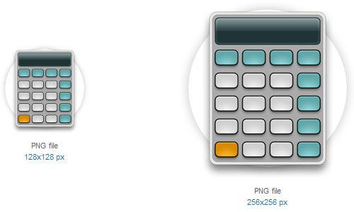 19 Free Calculator Icons