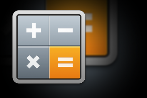 Calculator Replacement Icon