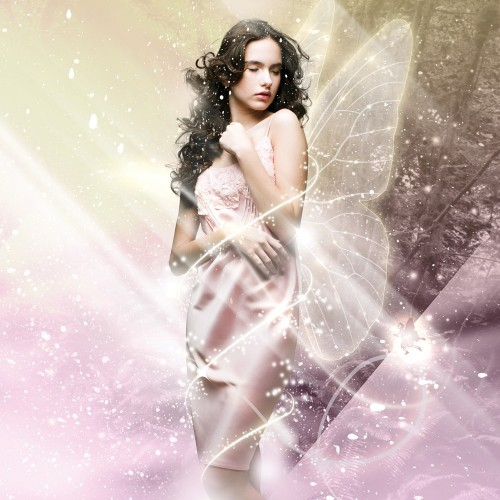 Fantasy Light Effects in Photoshop