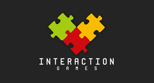 Interaction Games - Puzzle Logo Designs