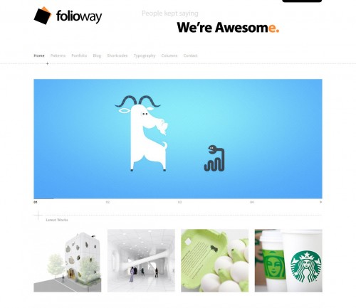 Folioway - Fashion Themes for WordPress