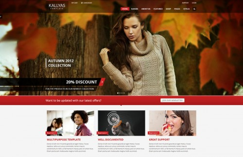 KALLYAS - Responsive WordPress Theme