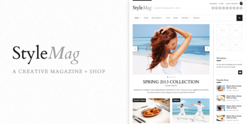 StyleMag - Responsive Magazine WP Theme