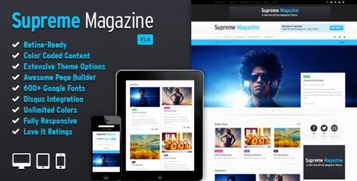 Supreme - Retina Responsive Magazine Theme