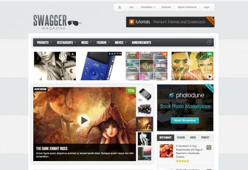 SwagMag - WordPress Magazine Theme