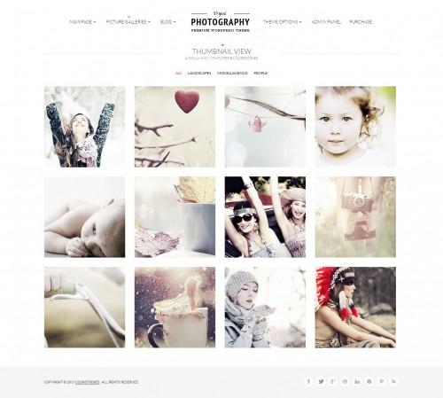 Tripod - Professional WP Photography Theme