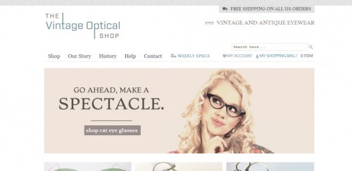 Vintage Optical Shop