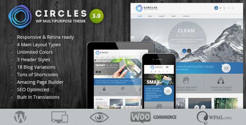 Circles - Retina Responsive Theme