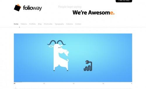 Folioway - Premium Portfolio WP Theme