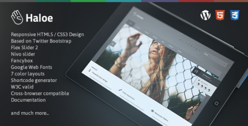 Haloe - Responsive WordPress Theme