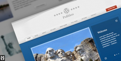 Politico: Political Campaign WordPress Theme