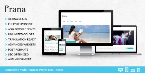 Prana - Premium WordPress Theme