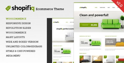 Shopifiq - Responsive WP WooCommerce Theme