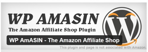 WP AmASIN - The Amazon Affiliate Shop