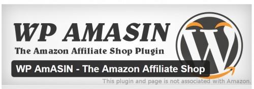 WP AmASIN - The Amazon Affiliate Shop