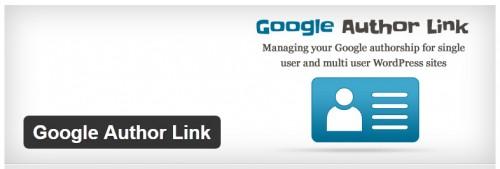 Google Author Link