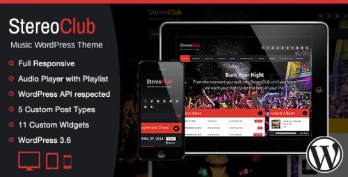 StereoClub - NightClub & Music WP Theme