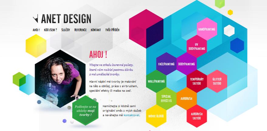 A Roundup of Inspirational Hexagon Web Designs - WPJournals