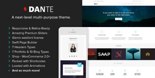 Dante - Responsive WordPress Theme