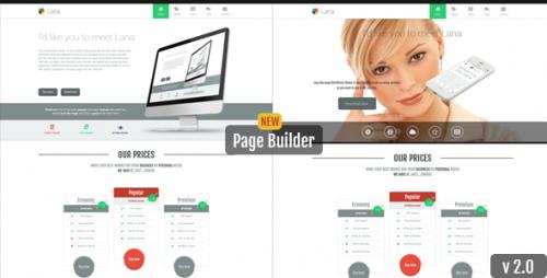 Lana - One Page WordPress Theme