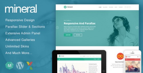 Mineral - Responsive WordPress Theme