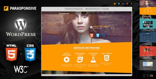 Parasponsive Corporate WordPress Theme