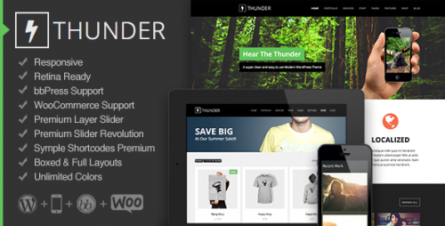 Thunder - Responsive Multi-Purpose Theme