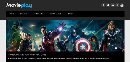 MoviePlay WP Theme
