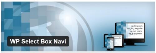 WP Select Box Navi