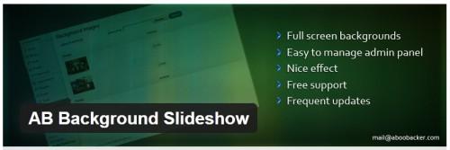 AB Background Slideshow