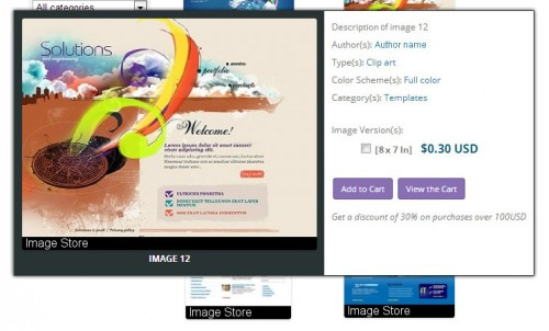 CP Image Store with Slideshow