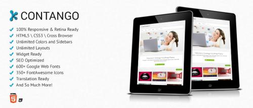 Contango – Premium WordPress Theme