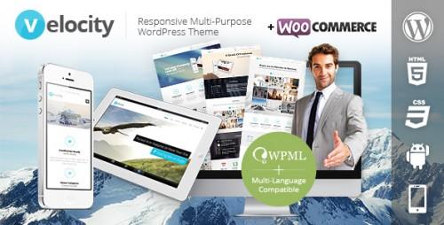 Velocity Responsive Multi-Purpose WP Theme