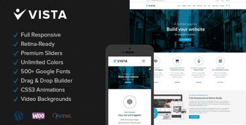 Vista - Responsive Multi-Purpose WP Theme