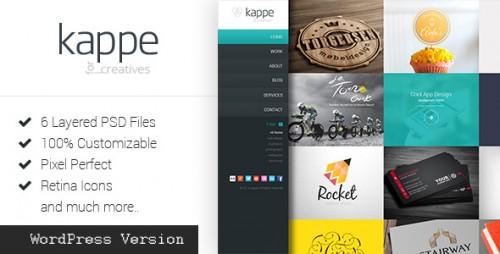 Kappe - Full Screen Portfolio & Blog WP Theme