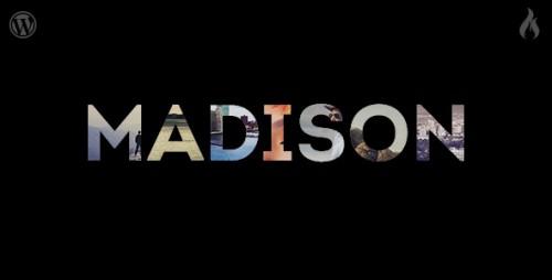 Madison - Responsive Portfolio WP Theme