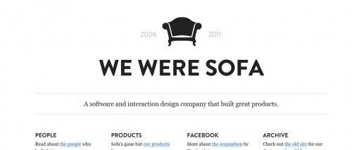 We Were Sofa