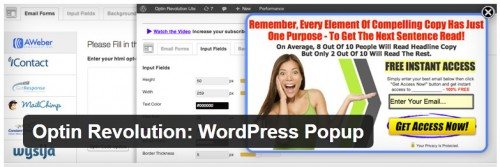 Optin Revolution - WordPress Popup
