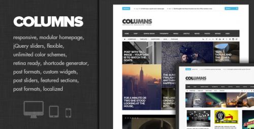 Columns - Impressive Magazine and Blog Theme