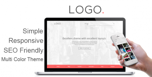 LOGO - Responsive HTML5 Template
