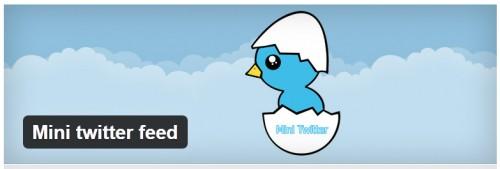 Mini Twitter Feed