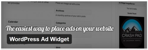 WordPress Ad Widget